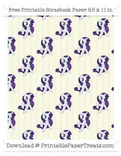 Beige Striped Large  Rarity Pattern Paper