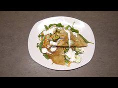 (168) Buday, Otthon - Töltött sült tészta salátával (Csebureki) - YouTube Tacos, Mexican, Ethnic Recipes, Food, Essen, Meals, Yemek, Mexicans, Eten