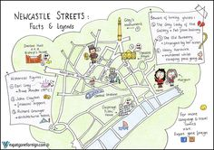 Newcastle Streets: Facts & Legends