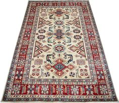 Today's Kazak is a modern shape of old Caucasian rugs which strictly adheres to traditional design elements of the Caucasus.  http://www.alrug.com/4886