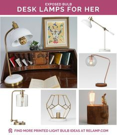 Upgrade your desk style and be inspired with RELAMP Designer Light Bulbs. Colorful prints, including giraffe, clouds, space and color swirl, will make your work space a bright spot to spend your day. Desk Lamp, Table Lamp, Desk Inspo, Desk Styling, Color Swirl, Holiday Gift Guide, Bulbs, Light Colors, Light Fixtures