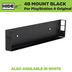 PS4 Wall Mount   HIDEit Mount for PlayStation 4 Original Game Console - HIDEit Mounts