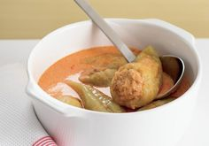 Plněné papriky | Apetitonline.cz Potatoes, Vegetables, Food, Red Peppers, Potato, Essen, Vegetable Recipes, Meals, Yemek