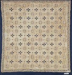 Cover  Date: 16th century Culture: Spanish (?) Medium: Linen, cutwork Dimensions: L. 18 x W. 17 inches (45.7 x 43.2 cm)