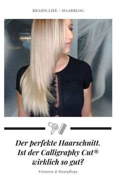 The perfect haircut - is the calligraphy cut really that good? Media Images, Braids, Hair Cuts, About Me Blog, Hair Beauty, Hairstyle, T Shirts For Women, Long Hair Styles, Inspiration