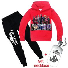 Boys T-Shirt and Trouser Sportswear With Gift Necklace Boys Pants, Baby Boy Fashion, Black Boys, Boys T Shirts, Hoodies, Sweatshirts, Coral Curtains, Kids Outfits, Sportswear