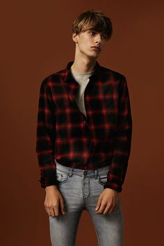 Every guy should own a check shirt - whether you tuck it into your jeans is up to you. #newlook #menswear