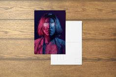 I Had Glitter In My Eyes A6 Postcard by SefieRosenlund by Sefie Rosenlund @ Etsy. Drawing Tablet, Wacom Intuos, Video Game Art, My Eyes, Etsy Seller, Digital Art, Glitter, Colours, Art Prints