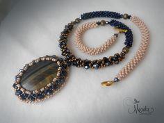 Bead embroidery and bead crochet. micuka.com