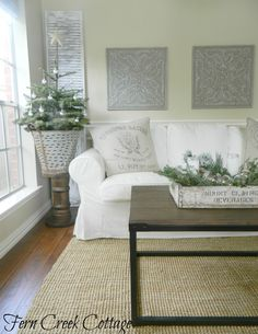 I had so much fun putting my living room together for Christmas and I have to admit... I love it!   I wish I could leave it this way all ...
