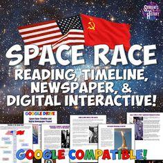 Cold War Space Race Activity!