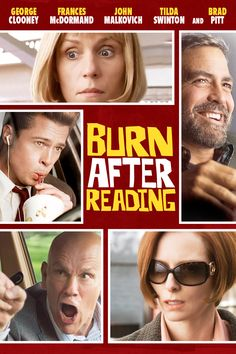February 2014 | 19. Burn After Reading. I love this movie