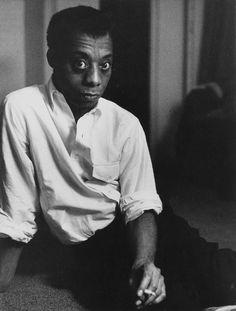 Robert Frank, James Baldwin.