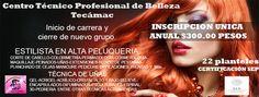 Academia  profesional  de belleza Tecámac SEP  escuela en Loma Bonita Tecámac México 1