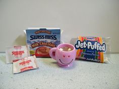 for Doll like American Girl Hot Chocolate Cocoa Set with Marshmallows Smiles Vary American Girl Doll Food Hot Chocolate Set with MarshmallowsAmerican Girl Doll Food Hot Chocolate Set with Marshmallows American Girl Food, Ropa American Girl, American Girl Crafts, Diy Ag Dolls, Ag Doll Crafts, Diy Doll Food, American Girl Accessories, Doll Accessories, Diy Crafts For Girls