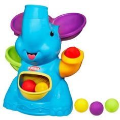Great toy for little ones.  Very cute and kids love catching and chasing the balls.