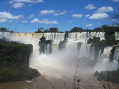 Iguazu Falls - Argentina Side Panoramic View