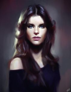Wojtek Fus - looks similar to the smudge art I do, except it is controlled and mine is not as much!