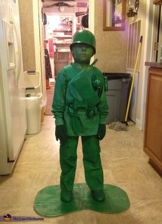 Toy Soldier Costume - Halloween Costume Contest via @costume_works