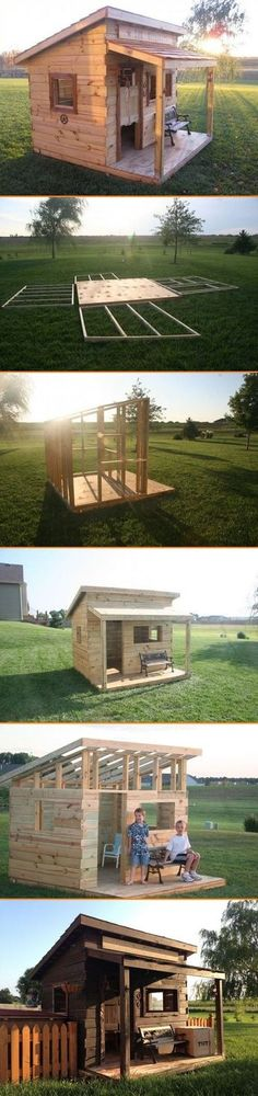 How to Build A Western Saloon Kid's Fort