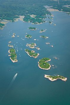Thimble Islands where pirates hid