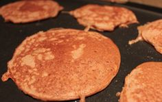 These Peanut Butter Protein Pancakes pack a nutritional punch and are simple to make and yummy!