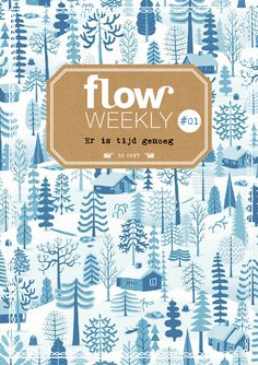 Flow Weekly 1-2015. Pattern by Bjorn Rune Lie for Betty and Dupree