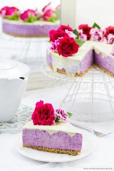 Sernik jagodowy / Blueberry cheesecake