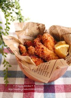 トースターで!しっかり味付き揚げないスティックチキンフライ |たっきーママ オフィシャルブログ「たっきーママ@happy kitchen」Powered by Ameba