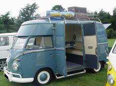 Vintage Vans - Restauro de Carrinhas Pão de Forma a