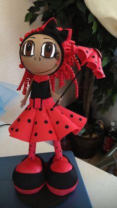Bug Inspired Fofuchas Doll by maribelgalvan on Etsy. $21.00, via Etsy.