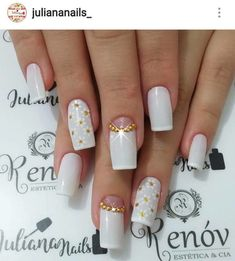 Best Nail Art Designs 2018 Every Girls Will Love These trendy Nails ideas would gain you amazing compliments. Best Nail Art Designs, Beautiful Nail Designs, Beautiful Patterns, French Manicure Nails, Hot Nails, Cool Nail Art, Nail Arts, Trendy Nails, Every Girl