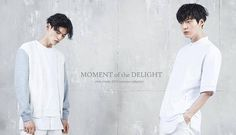Kim Won Joong & Ahn Jae Hyeon for 'Moment of the Delight' chris christy 2015 summer collection
