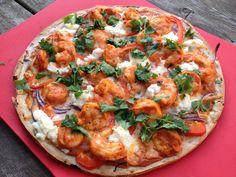 Thai Shrimp Pizza | The Domestic Blonde