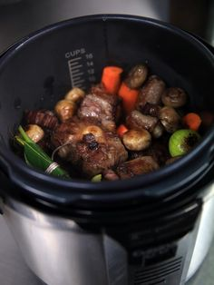 Oxtail recipe in the pressure cooker