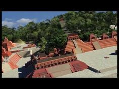 The Ancient Mesoamerican World Reconstructed (Maya Cities).
