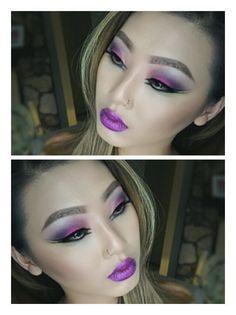 Fun Electrifying Eyes on the #Sephora Beauty Board