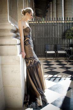 Zuhair Murad- RTW Spring/Summer 2013 Collection- Presentation in Paris at Hotel Crillion