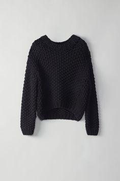 Ohnyx Hand Knit black