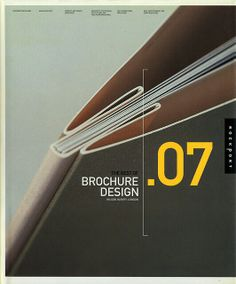 """The Best of Brochure Design 07"", by Wilson Harvey, (London), 'RockPort' Ed., Annual Report, (2003) - [Wilson Harvey is a London-based integrated Design and Marketing Agency with a focus on producing high-end communications for a wide range of clients, since 1994]  ~  Book Cover Graphic Design by Wilson Harvey"