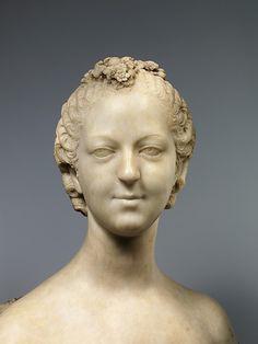 Bust of Madame de Pompadour,1748-50 Jean-Baptiste Pigalle