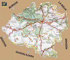 RUTAS ROMANICAS POR SORIA Spain, Diagram, World, Travel, Iglesias, Backpacking, Maps, Guadalajara, Summer Travel