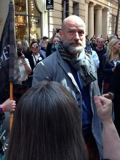 Graham McTavish NYC Tartan Parade