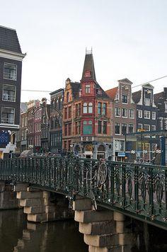 Canal Street ~ Amsterdam, Netherlands