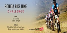 #ROHIDA BIKE HIKE CHALLENGE!! An adventurous event to test the curiosity of the bikers.!!  #adventure #ride #trekking #Pune