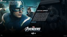 Marvel's The Avengers by Justin Carroll, via Behance