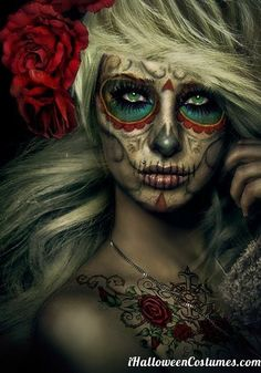 Awesome makeup for Halloween » Halloween Costumes 2013