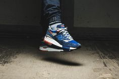 """Two beautiful """"Made in USA""""-models, the M998CSAL and the M998CSRR, from the New Balance """"Rockabilly Pack"""" arrived at our shop today and we've fallen in love at first sight... EU 41,5 - 46,5   190,-€"""