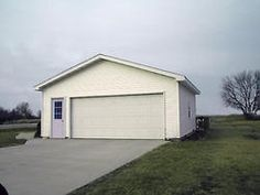 24' x 24' x 9' 2-Car Garage