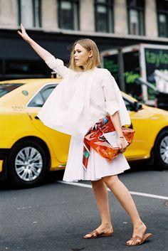 New York Fashion Week SS 2015....Kristina